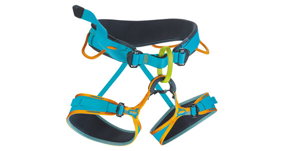 Edelrid Duke - Baudrier - L orange/bleu
